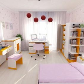 situé dans la photo intérieure d'une chambre d'enfant