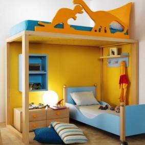 situé dans une chambre d'enfants idées d'intérieur