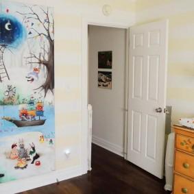 peintures pour photo de décor de chambre d'enfants