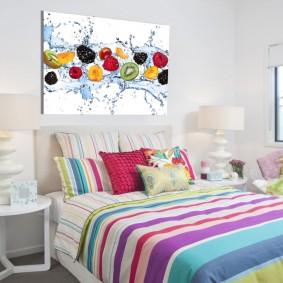 peintures pour chambre d'enfants photo intérieur