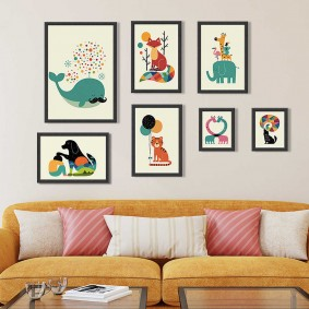 peintures pour photos d'intérieur chambre d'enfants