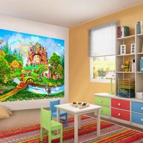 tableaux pour chambre d'enfant