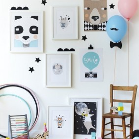 peintures pour chambre d'enfants idées d'idées