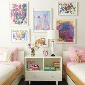 tableaux pour les vues des chambres d'enfants