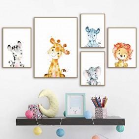 peintures pour chambre d'enfants types de photos