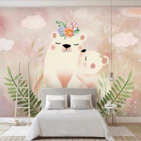 peintures pour chambre d'enfants