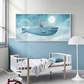 peintures pour les types de décor de chambre d'enfants