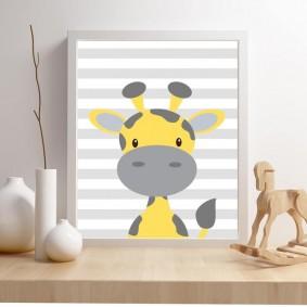 peintures pour chambre d'enfants types de design