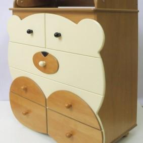 commode pour idées de décoration de chambre d'enfant