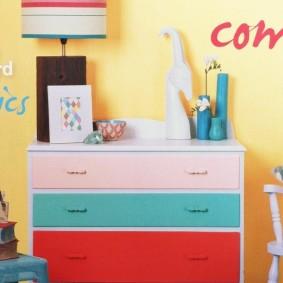 commode pour des idées de conception de chambre d'enfants