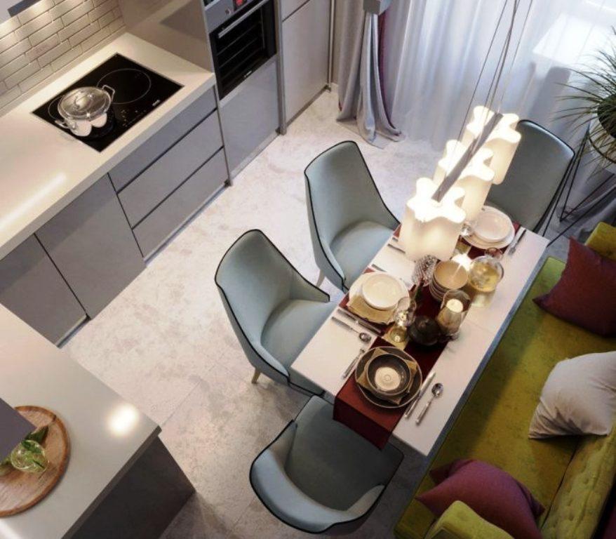 cuisine 9 m² photo