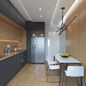 cuisine 9 m2 minimalisme