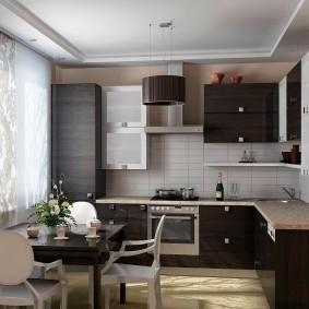 cuisine 9 m² moderne