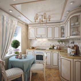 cuisine 9 m² provence