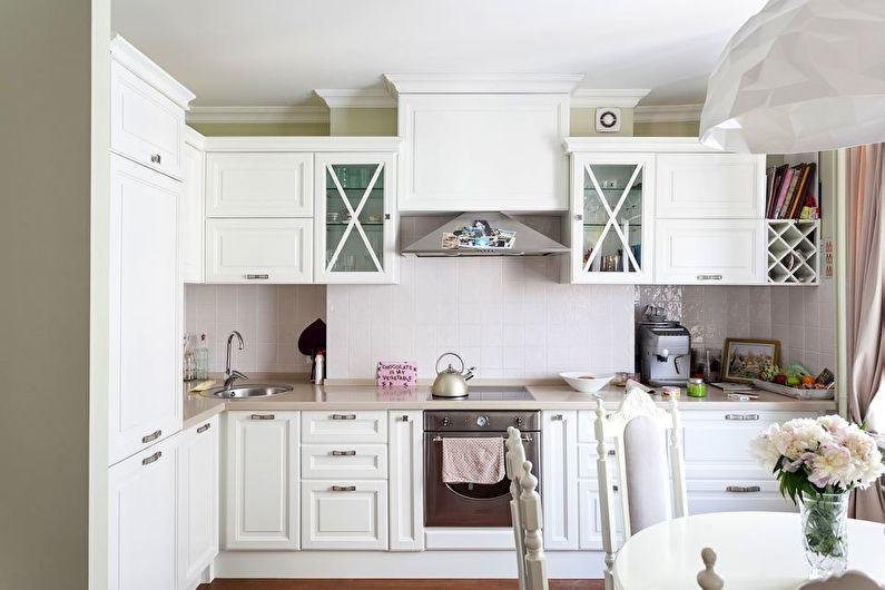 cuisine 9 m² après réparation
