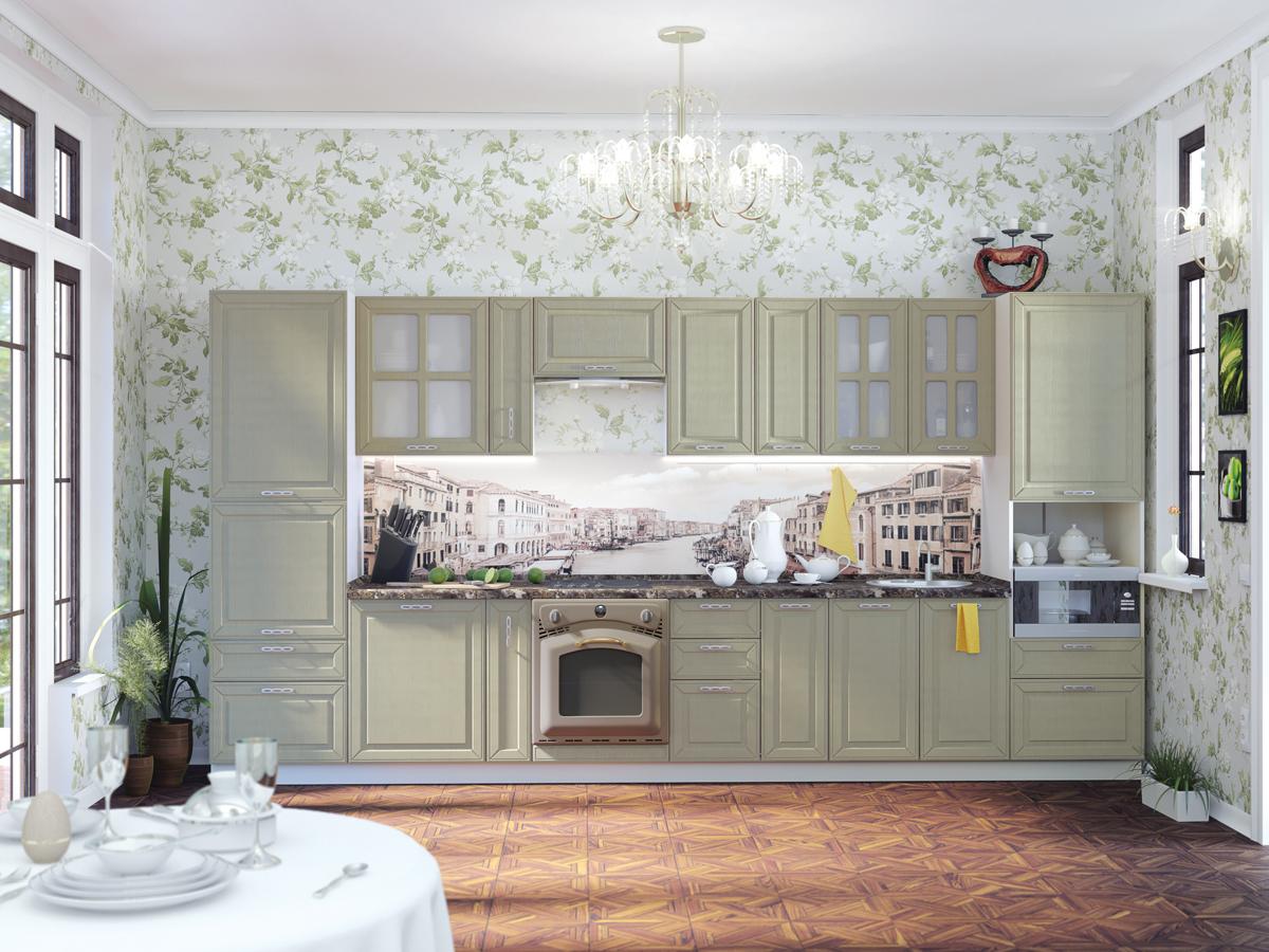 papier peint cuisine provence