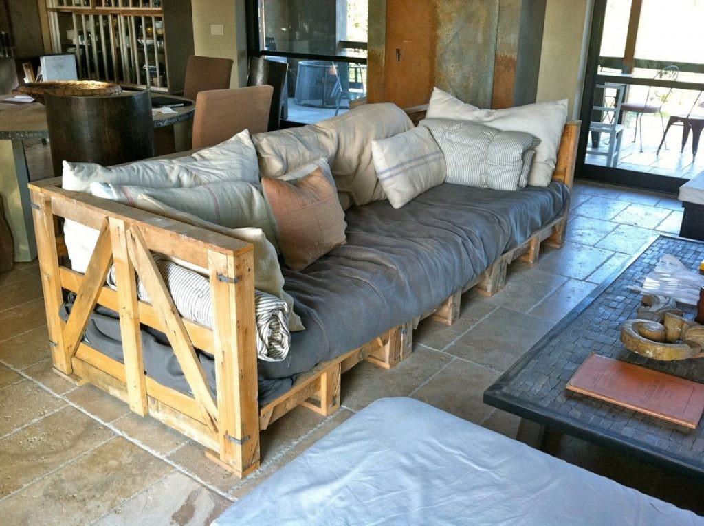 Canapé pour chalets d'été