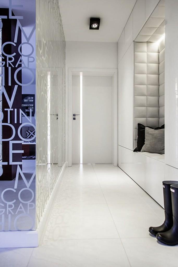 Couloir minimaliste étroit