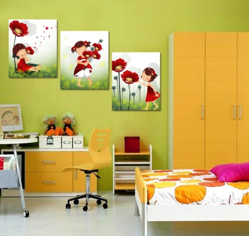 peintures modernes pour enfants