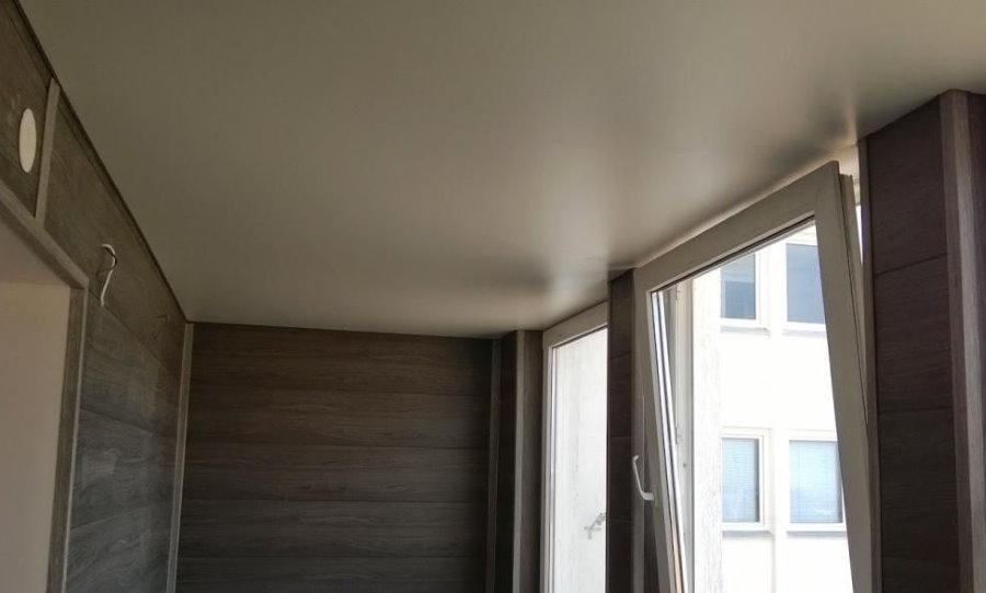 מתיחו תקרה במרפסת נוחה