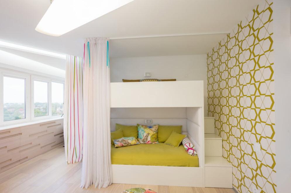 Papier peint chambre d'enfants de style high-tech