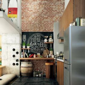 papier peint pour la conception de la cuisine