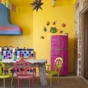 papier peint pour des idées d'intérieur de cuisine