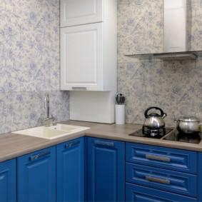 papier peint pour une petite cuisine
