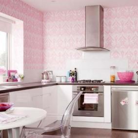 papier peint pour une petite cuisine options