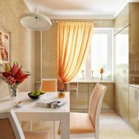 papiers peints pour une petite cuisine