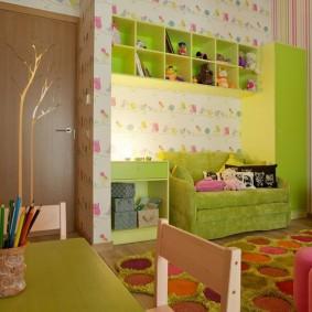 papier peint dans les idées de chambre d'enfants