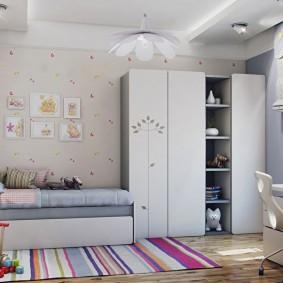 papier peint dans la chambre des enfants types de photos