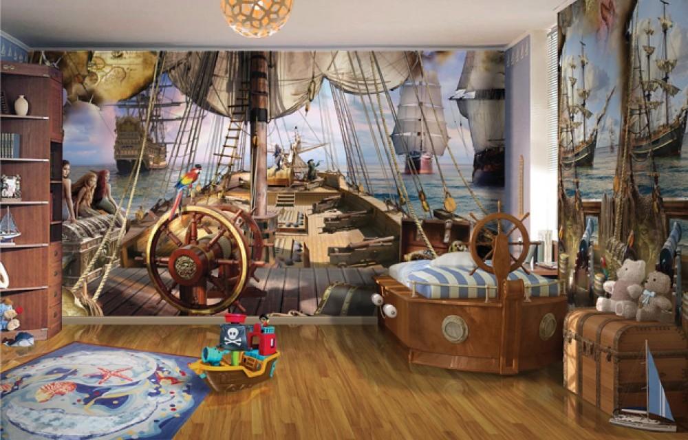 fond d'écran pour enfants sur le thème marin