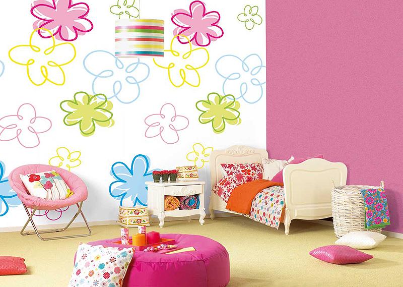 papier peint dans la chambre pour les enfants