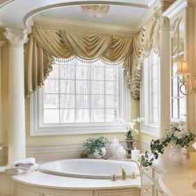 idées de plancher de salle de bain