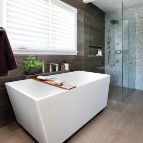 décoration de salle de bain photo d'intérieur