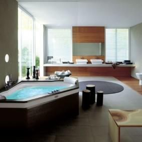 planchers de salle de bain sortes d'idées