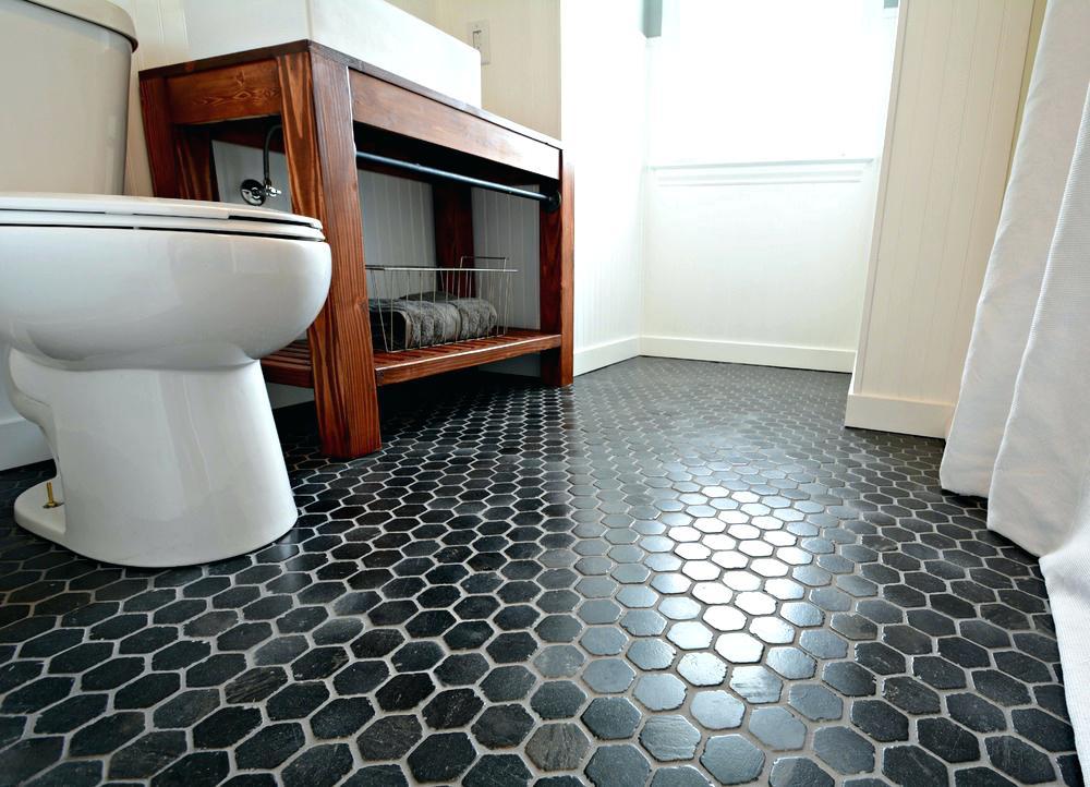 carreaux de sol hexagonaux