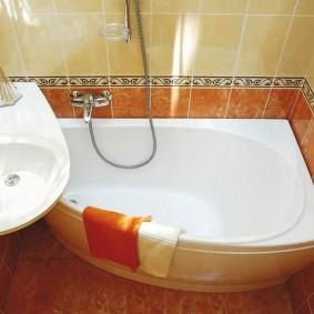 évier sur des idées de conception de baignoire