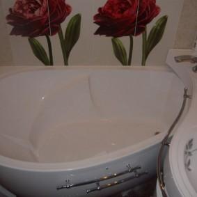 couler sur la baignoire aperçu