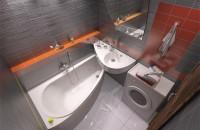 chìm trong bức ảnh ý tưởng phòng tắm