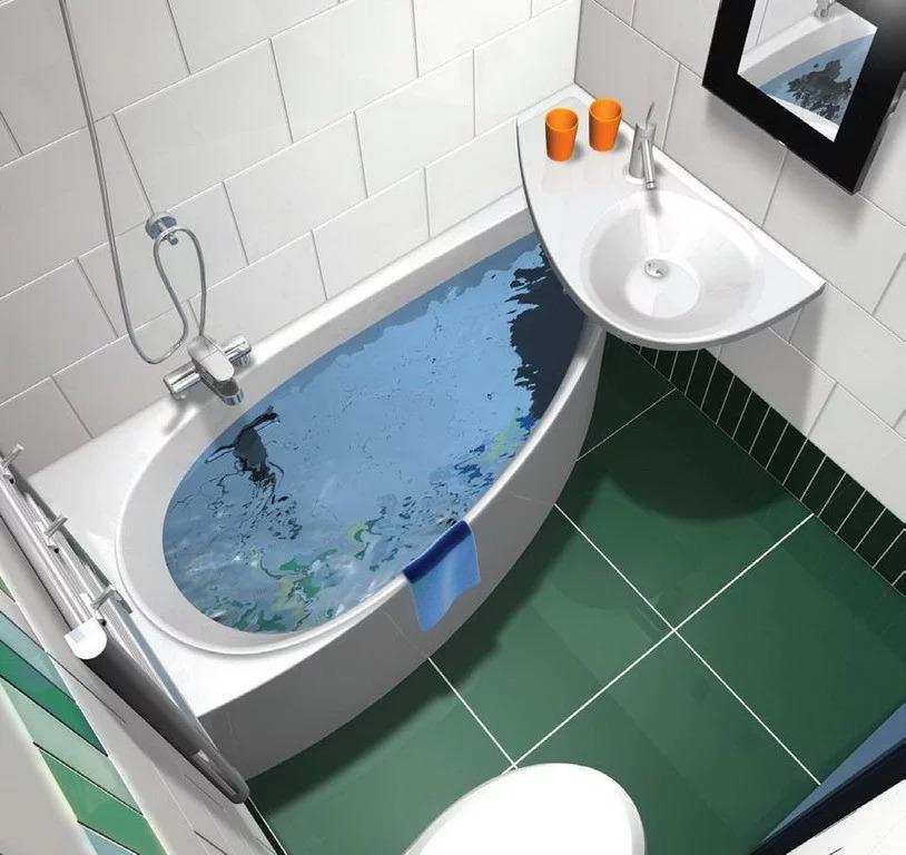 couler sur la salle de bain à Khrouchtchev