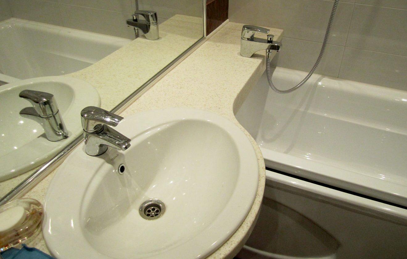 lavabo avec plan de travail