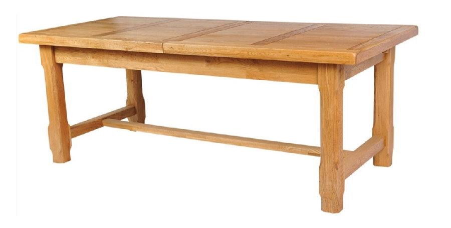 Table extensible en bois massif
