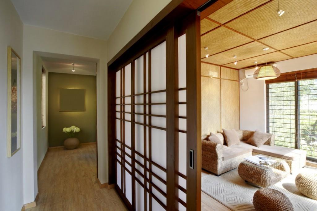 Portes coulissantes de style japonais