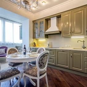 rénovation de cuisine d'une superficie de 9 m² design d'idées