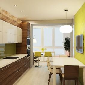 réparation de cuisine avec une superficie de 9 m² décor photo
