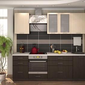 rénovation de cuisine d'une superficie de 9 m² idées déco