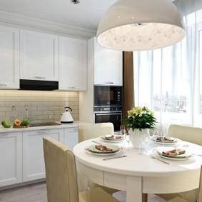 réparation de cuisine d'une superficie de 9 m² intérieur