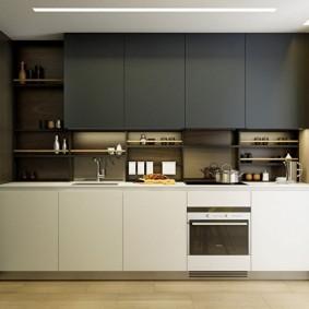 réparation de cuisine d'une superficie de 9 m² photo intérieure